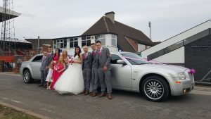 Football ground wedding car hire